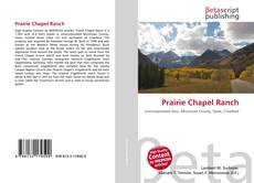 Capa do livro de Prairie Chapel Ranch