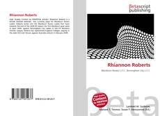 Bookcover of Rhiannon Roberts