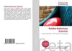 Portada del libro de Robbie Robertson (Comics)