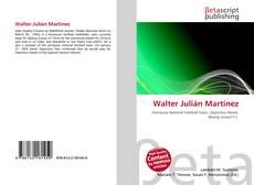 Bookcover of Walter Julián Martínez