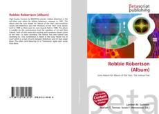 Portada del libro de Robbie Robertson (Album)