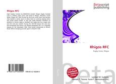 Rhigos RFC kitap kapağı