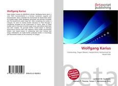 Buchcover von Wolfgang Karius