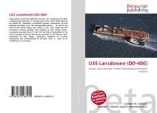Capa do livro de USS Lansdowne (DD-486)