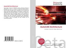Portada del libro de AutoCAD Architecture
