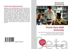 Bookcover of Prairie View A&M University
