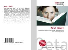 Couverture de Aimé Césaire