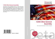 Bookcover of 125th Ohio General Assembly