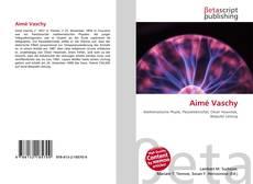 Bookcover of Aimé Vaschy