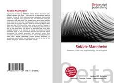 Обложка Robbie Mannheim
