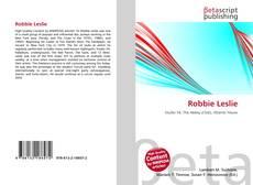 Bookcover of Robbie Leslie