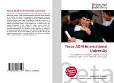 Buchcover von Texas A&M International University
