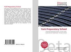 Bookcover of York Preparatory School