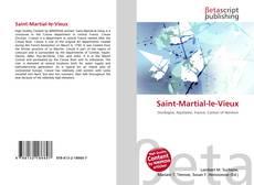 Bookcover of Saint-Martial-le-Vieux