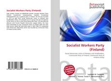 Bookcover of Socialist Workers Party (Finland)
