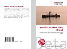 Bookcover of Socialist Workers Party (India)