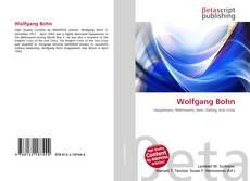 Copertina di Wolfgang Bohn