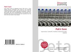 Bookcover of Pak'n Save