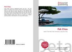 Bookcover of Pak Chau