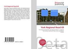 Portada del libro de York Regional Road 69