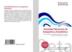 Portada del libro de Sociedad Mexicana de Geografía y Estadística