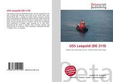 Copertina di USS Leopold (DE-319)