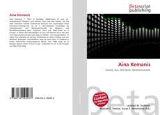 Buchcover von Aina Kemanis