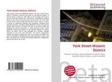 Portada del libro de York Street Historic District