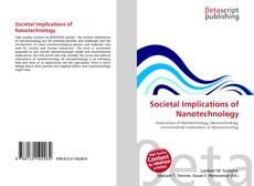 Bookcover of Societal Implications of Nanotechnology