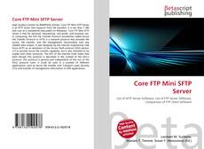 Capa do livro de Core FTP Mini SFTP Server