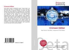 Crimson Editor kitap kapağı
