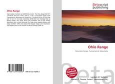 Ohio Range kitap kapağı