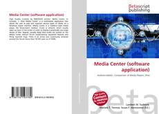 Bookcover of Media Center (software application)