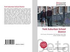 Bookcover of York Suburban School District