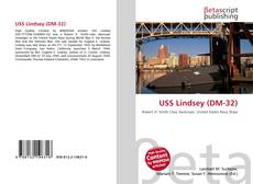 Bookcover of USS Lindsey (DM-32)