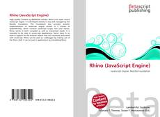 Rhino (JavaScript Engine) kitap kapağı
