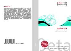 Bookcover of Rhino 39