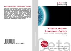 Buchcover von Pakistan Amateur Astronomers Society