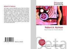 Robert A. Nulman kitap kapağı
