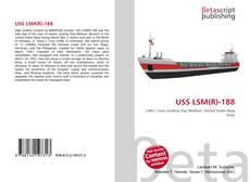 Capa do livro de USS LSM(R)-188