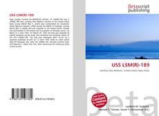 Capa do livro de USS LSM(R)-189
