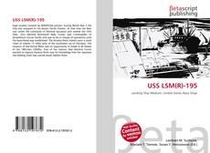 Capa do livro de USS LSM(R)-195