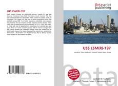 Copertina di USS LSM(R)-197