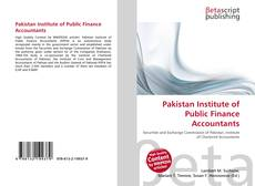 Borítókép a  Pakistan Institute of Public Finance Accountants - hoz