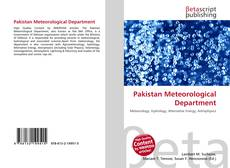 Bookcover of Pakistan Meteorological Department