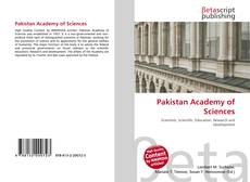 Bookcover of Pakistan Academy of Sciences