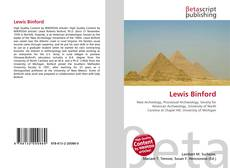 Capa do livro de Lewis Binford
