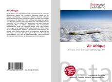 Bookcover of Air Afrique