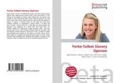 Обложка Yorke-Talbot Slavery Opinion