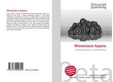 Portada del libro de Rhinoclavis Aspera